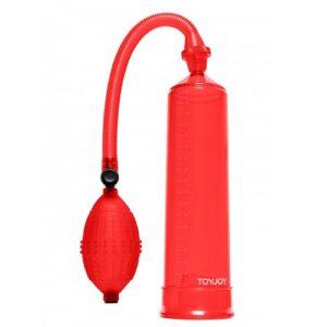 Penis Enlarger Power Pump Red