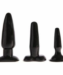 Liquorice Dip Butt Plugs