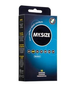 MY.SIZE 49mm Condom - 10 Pack