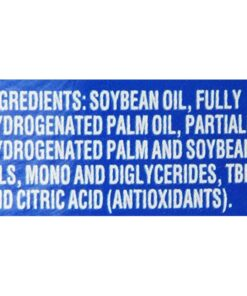 Crisco Ingredients