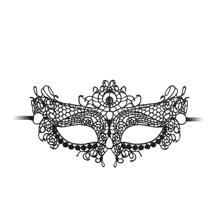 Ouch Queen Black Lace Mask