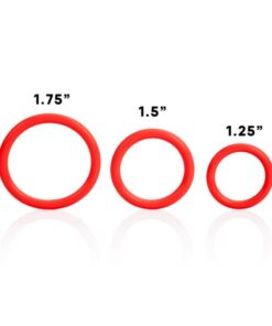 Tri-Rings Set Of Three Cockrings