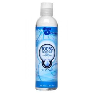 Clean Stream 100 Percent Silicone Anal Lubricant - 8.5 oz
